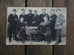 CPA 44 VALLET CONSCRITS HOMMES CLASSE 1914 - France
