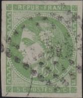 France  .   Yvert    .    42B  (2 Scans)       .   O    .    Oblitéré   .   /   .    Cancelled - 1870 Emission De Bordeaux