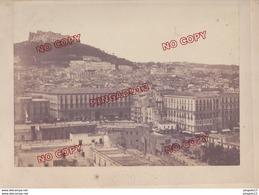 Au Plus Rapide Grand Format XIX E Siècle Photographe Robert Rive Naples Napoli - Anciennes (Av. 1900)