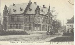 EVERGEM : Maison Communale - Gemeentehuis - Cachet De La Poste 1906 - Evergem
