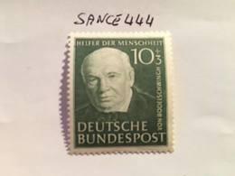 Germany Welfare F. Von Bodelschwinch Politician 1951 Mnh - Unused Stamps