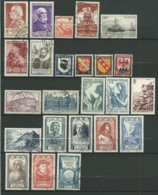 FRANCE: Obl., N° YT 748 à 771, Année 1946 Complète, TB - Frankreich