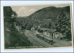 U7498/ Bahnhof Steinerne Renne Bei Wernigerode Harz  AK 1933 - Deutschland