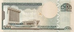 DOMINICAN REPUBLIC P. 186b 500 P 2012 UNC - Dominicana
