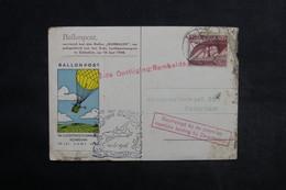 PAYS BAS - Carte Par Ballon En 1946 , Affranchissement ,cachets Et Vignette Plaisants , Dans L 'état - L 33863 - Periode 1891-1948 (Wilhelmina)