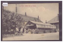 DISTRICT DE LA VALLEE - LE PONT - HOTEL DE LA TRUITE - TB - VD Vaud