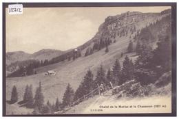 DISTRICT DE GRANDSON - CHALET DE LA MERLAZ - TB - VD Vaud
