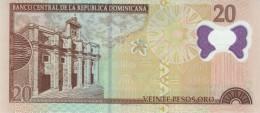 DOMINICAN REPUBLIC P. 182 20 P 2009 UNC - Dominicana