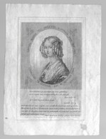 Jolie Petite Gravure Tirée D'un Livre. Louisa Maria Van Orleans. Reine Des Belges. Ostende 1850 - Vieux Papiers