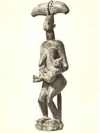 Sculpture Africaine-tribu Yoruba - Adoratrice De Shango Dieu Du Tonnerre--cpm - Nigeria