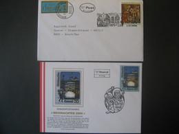 Österreich- Christkindl 01.12.2000 FDC Und  28.11.2004 Christkindl Mit Weihnachtsmarken LZ - 1991-00 Lettres