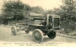 """LANGRES = Etablissements B CHOUTEAU : Tracteur """" NASH-QUAD """"   822 - Langres"""