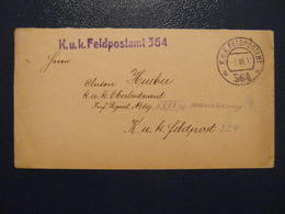 WW1 - FELDPOST SOLDIER'S FREE MAIL FELDPOSTKORRESPONDENZ FELDPOSTAMT 364 1914-1918 MILITARIA - 1850-1918 Imperium