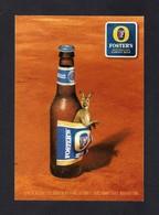 Carte à Pub.   Bière FOSTER'S   Australia's Famous Beer.   Kangourou. - Advertising
