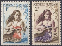POLYNESIE Française - 1958/1960 - Lotto Di 2 Valori Nuovi MNH: Yvert 3 E 4. - Polinesia Francese