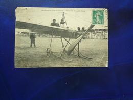 1908 AERODROME DU CAMP DE CHALONS FISCHER SUR MONOPLAN CONTAL LEGERS DEFAUTS ETAT CORRECT - Aviateurs