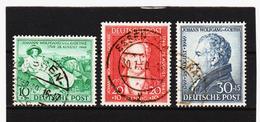 YZO196 AMERIKANISCHE BRITISCHE ZONE 1949   Michl 108/10 Used / Gestempelt SIEHE ABBILDUNG - Bizone