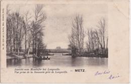 Bu - Cpa METZ - Vue Prise De La Saussaie Près De Longeville - Metz Campagne