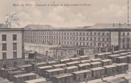Bu - Cpa METZ En 1870 - Esplanade Et Caserne Du Génie Pendant Le Blocus - Metz