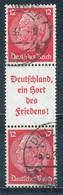Deutsches Reich Zusammendruck S 146 Gestempelt Mi. 22,- - Se-Tenant
