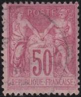 France  .   Yvert    .   104        .       O    .    Oblitéré   .   /   .    Cancelled - 1898-1900 Sage (Type III)