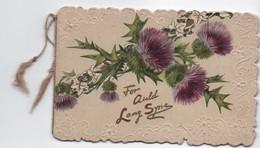 Carte De Voeux/Meilleurs Souhaits/ Joyeux Noël/Bouquet De Chardons/For Auld Lang Syne/TUCK & SONS/vers 1900-10   CVE151 - Nouvel An