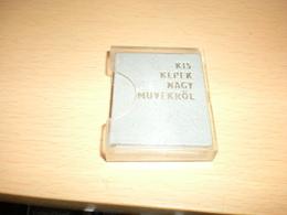 Mini Book Kis Kepek Nagy Muvekrol - Other