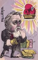 CPA Peinte à La Main Caricature Satirique M. Cloche Sénat Bonnet Phrygien Bell Illustrateur L. BILLE ( 2 Scans) - Satiriques