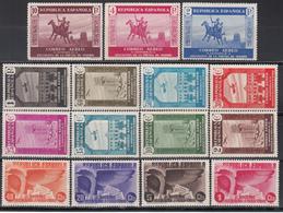 1930  Edifil Nº 559 / 565 MH - 1931-50 Nuevos & Fijasellos