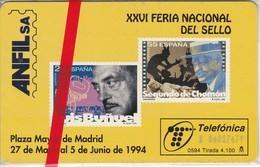 ANFIL CINE DE TIRADA 4100 NUEVA-MINT  (SELLO-STAMP) - Francobolli & Monete