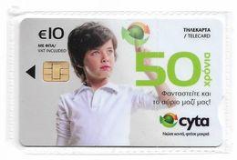 Cyprus - Cyta - Cyta's 50th Anniv. - 0211CE - Collectors Issue, 10€, 09.2011, 500ex, NSB - Cyprus