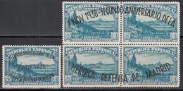 1938  Edifil Nº  789 / 790   MH - 1931-Aujourd'hui: II. République - ....Juan Carlos I