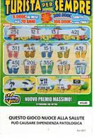 GRATTA E VINCI   - TURISTA PER SEMPRE  € 5.00 - USATO (SERIE STELLA NUOCE ALLA SALUTE) - Biglietti Della Lotteria
