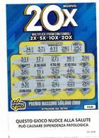 GRATTA E VINCI   - NUOVO 20 X  € 5.00 - USATO (SERIE STELLA NUOCE ALLA SALUTE) - Biglietti Della Lotteria