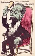 CPA Caricature Satirique Politique P. DOUMER Cloche Bell Président De La Chambre Illustrateur ( 2 Scans) - Satiriques