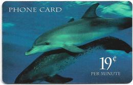 USA - NMTI - Dolphins, Remote Mem. 19¢ Per Min, Used - Otros