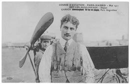 Issy Les Moulineaux Aviation Course Paris-madrid 1911 Garros Avant Départ Foule état Superbe - ....-1914: Précurseurs
