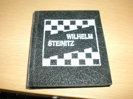 Mini Book Chess Wilhelm Steinitz Jugoslovenska Mini Knjiga - Deportes
