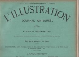 L'ILLUSTRATION 19 10 1901 - BALLON LE MEDITERRANEEN LES SABLETTES - AFRIQUE DU SUD TRANSVAAL BOERS - THEATRE FRANCAIS - - L'Illustration