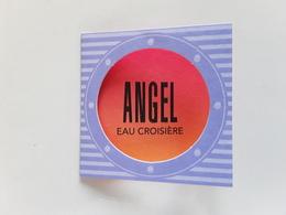 "THIERRY MUGLER    "" Eau Croisière   ""  Petite Carte Double  !! - Modernas (desde 1961)"