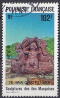 POLYNESIE Française - 1991 - Yvert 387 Usato. - Usati