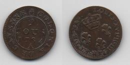 + FRANCE  + 2 SOUS 1782 + CAYENNE  + MAGNIFIQUE + - Kolonies