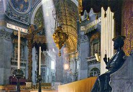 1 AK Vatikan * Innenansicht Der Peterskirche * - Vatikanstadt