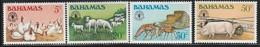 BAHAMAS - N°488/91 ** (1981) Elevages - Bahamas (1973-...)