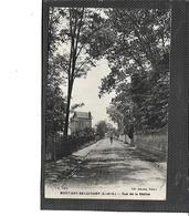 95-MONTIGNY-BEAUCHAMP-(Montigny-les-CORMEILLES)-UNe Vue Animée D' Un Cycliste Rue De La Station - Montigny Les Cormeilles