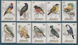 AITUTAKI - N°380/9 ** (1984) Oiseaux - Aitutaki