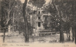 CPA  ROYAN  17200 :  Villa  Léona Ghislaine    1927 - Royan
