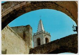 ALGHERO      CAMPANILE  CHIESA  S.  FRANCESCO  (PARTICOLARE)       (VIAGGIATA) - Altre Città
