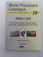 World Phonecard Catalogue 10 - Edition 2001 - Telefonkarten