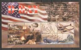 Sierra Leone 2004 Kleinbogen Mi 4620-4627 MNH WORLD WAR 2 - D-DAY AIRCRAFT SHIPS - Airplanes